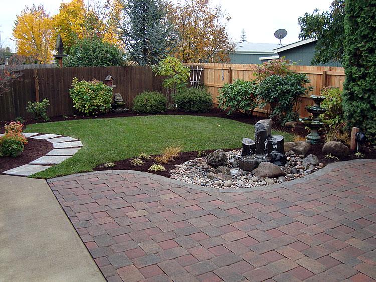 Tree, Shrubs and Lawn Installation on backyard design plants, backyard low water, backyard rock garden plants, backyard ground cover plants, backyard landscape design,