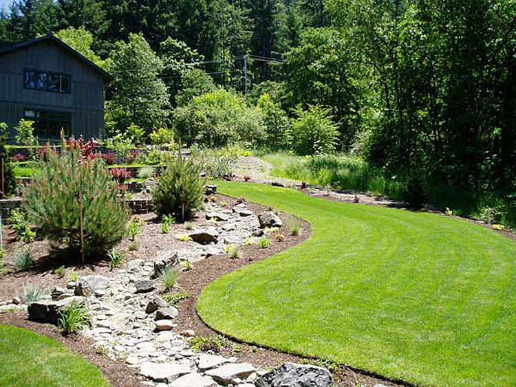 Drainage and Creek Bed Installation
